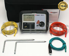 Megger DET3TC 3 Terminal Earth Ground Resistance Tester