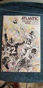 1968 ATLANTIC BOWL WATERLOO LUTHERAN GOLDEN HAWKS VS ST. MARY'S HUSKIES FOOTBALL