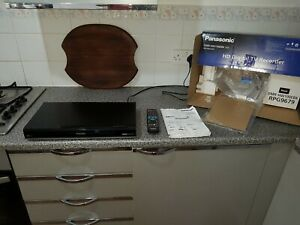 Panasonic DMR-HW100 HDD Recorder, 320GB, Twin HD Tuner, Freeview +HD