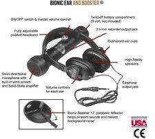 SpyAssociates.com Bionic Ear Parabolic Dish Sound Amplifier Listening Device
