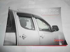Isizu D-Max Pick-up Car - Accessories Brochure Promotional Book Booklet