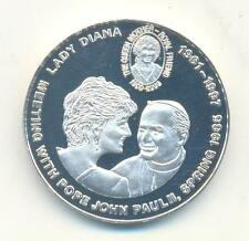 VERY RARE.CONGO 5.FRANCS 1997 DIANA PRINCESS OF WALES PROOF.Y.62