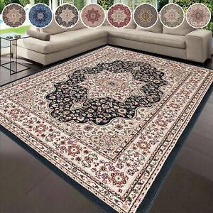 Modern Non Slip Large Area Rugs Traditional Rug Bedroom Carpet Hallway Runner UK
