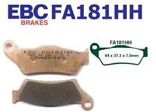 EBC Plaquettes De Frein FA181HH ARRIÈRE MOTO GUZZI Breva 1100 (ABS) 07