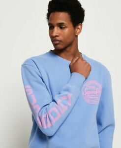 Superdry Pastel Ticket Type Crew Sweatshirt | New w/Tags | Quality & Authentic