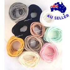Bulk Baby Nylon Headbands Skinny 30 Pieces Ultra Soft Stretchy Elastic Headbands