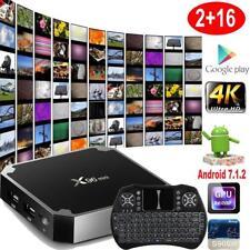 X96 mini 4K S905W Quad Core Android 7.1 TV BOX H.265 2G+16G DLNA Media + Clavier