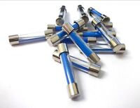 Glass fuse. Fast blow. Pack of 50. 15 Amp. Auto. Car. Van. *Top Quality!
