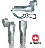 WENGER FIDIS SWISS ARMY FLINT & WICK CAMPING LIGHTER / SATIN CAMPING SURVIVAL