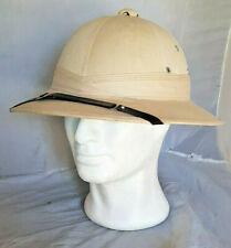 Chapeau casque colonial Armée Française tropical Indochine Algérie