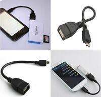 OTG Adapter USB 2.0 A Buchse Zu Micro B Stecker Konverter Kabel Samsung