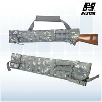 VISM Rifle Shotgun Scabbard Molle Shoulder Sling Soft Gun Case ACU Digital Camo