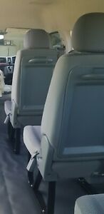 Toyota Hiace Commuter Bus seats in very good condition