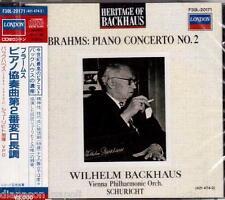 Brahms: Piano Concerto N.2 / Wilhelm Backhaus, Carl Schuricht - CD London Japan