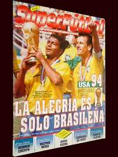FIFA WORLD CUP USA 1994 - BRAZIL CHAMPION - Superfutbol  Magazine