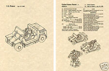 Transformers SWINDLE Patent Art Print READY TO FRAME!! G1 Decepticon FMC XR311