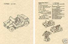 Transformers SWINDLE Patent Art Print READY TO FRAME!! G1 Decepticon FMC XR311