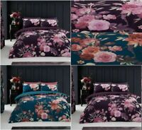 New Flora Duvet Cover Set With Pillowcase All Size Single Double king Bedding