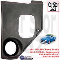 "RetroSound KP-C59-7385-62-M Kick Panels Pair /& 6.5/"" Speaker 73-85 Chevy Truck"