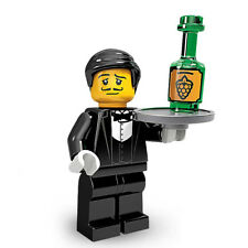 LEGO Waiter - Collectable Minifigure - Series 9 - NEW Minifig CMF City