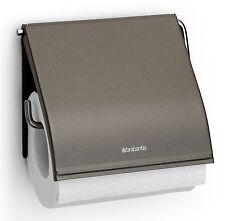 BRABANTIA Support pour papier toilette Platinum inoxydable