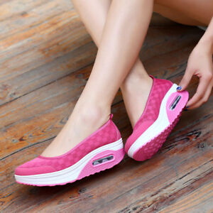 Women's Sport Running Sneakers Trainer Shoes Casual  Breathable Shoes Summer HOT