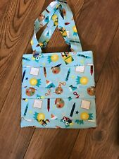 Handmade Crayon Tote Bag, Crayola Art/School Fabric, New, Great Gift Idea!