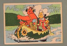 Oumpah Pah Uderzo Carte Postale 3001 Flock Indus feutre annees 60 rare
