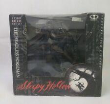 McFarlane Halloween Headless Horseman Sleepy Hollow 3 Piece Deluxe Tree Set 1999