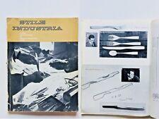 Stile industria Rivista Disegno Industriale n 29 1960 Alberto Rosselli Posate
