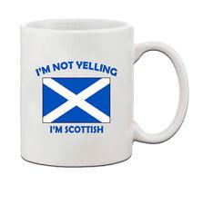 I'M Not Yelling, I Am Scottish Scotland Scots Ceramic Coffee Tea Mug Cup