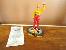 Nascar Sterling Marlin Hamilton Collection First on Race Day Figurine w/ Coa