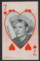 Will Hutchins Western Aces Exhibit Arcade card