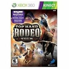 Top Hand Rodeo Tour (Microsoft Xbox 360, 2012) Kinect compatible