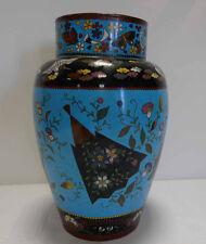 China - 19. Jahrhundert - Cloisonné Vase - chinesische Cloisonné Vase -
