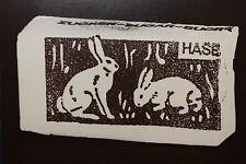 "JOSEPH BEUYS:""Hasenzucker"" Originalgrafik, hochwertige Kunstpostkarte"