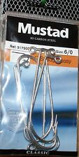 Mustad O'Shaugnhnessy Hook Size 6/0   - Used in Sea Fishing