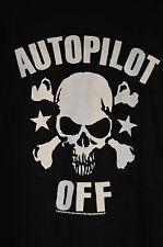 Autopilot Off Skull & Crossbones T-Shirt