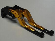 Honda CBR 1000 RR SC 59 08-16 Bremshebel Kupplungshebel Hebel Set schwarz gold