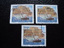 SUEDE - timbre yvert et tellier n° 2034 x3 obl (A29) stamp sweden