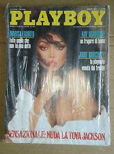 PLAYBOY - MARZO - 1989 - LA TOYA JACKSON - EDIZIONE ITALIANA