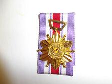 b0292 RVN Vietnam Good Conduct Medal Quan Phong Boi Tinh IR5E
