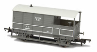 Oxford Rail OR76TOB002 Toad Brake Van GWR 4 Wheel Plated (late) Acton 56034 OO
