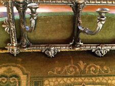 Garderobe Wandgarderobe Flur ideal zu Antik Mobiliar, Handtuchhalter Bad Bronze