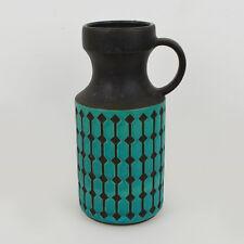 Vintage Henkel-Vase JASBA Keramik 1640-28 / WGP / Midcentury / 60er 70er / 28cm