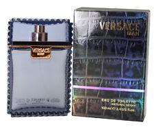 VERSACE MAN * Versace 3.4 oz / 100 ml Eau de Toilette Men Cologne Spray