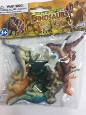 NEW 10 PCS DINOSAURS TOY PLASTIC FIGURINE FIGURE NATURE WORLD KIDS GIFT FUN