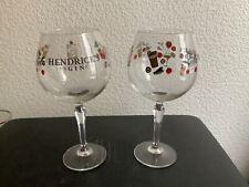 LOT DE 6 VERRES A GIN HENDRICK'S