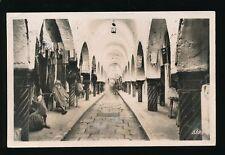 North Africa Tunisia TUNIS Souk des Etoffes Used 1949 RP PPC