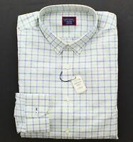 UNTUCKit Men's Shirt, Regular-Fit Long Sleeve Button-Down Casual Shirt, Yellow